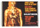 "Goldfinger FRIDGE MAGNET movie poster ""style B"" james bond $7.95 USD on eBay"