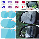 4pcs car rearview mirror sticker rainproof protective film anti fog rain shield