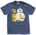 Star Wars BB-8 Droid Navy Heather Men's Graphic T-Shirt New $11.39 USD on eBay