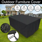Extra Large Waterproof Rain Garden Patio Outdoor Furniture Cover Rattan Table Us