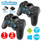 2/1Pack 2.4G Wireless Gaming Controller Gamepad for Android Tablets Phone PC TV