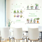 Decals Home Decoration Living Room Diy Wall Sticker Self Adhesive Plant Bonsai