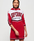 Superdry Womens College Hooded Sweat Dress