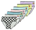 Five Nights at Freddys Little Girls 7 Pack Brief Style Panties Underwear