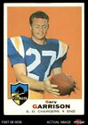 1969 Topps #233 Gary Garrison Chargers San Diego St 4 - VG/EX $10.5 USD on eBay