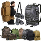 Kyпить 50L 3Pc Outdoor Military Rucksacks Tactical Backpack Camping Hiking Trekking Bag на еВаy.соm