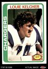1978 Topps #360 Louie Kelcher Chargers SMU 6 - EX/MT $1.15 USD on eBay