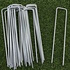Weed Control Fabric Pegs Metal U Pins Galvanised Steel Securing Membrane UK <br/> ✅ 3mm or 4mm  ✅ Made In UK ✅ Direct From Manufacturer