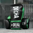 DECHA BOXING GLOVES DBGVM2 10 12 14 16 oz. Muay Thai MMA YELLOW BLACK