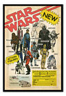 Star Wars Action Figures Poster MAGNETIC NOTICE BOARD Inc Magnets | UK Seller