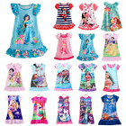 Kyпить Kid Baby Girl Summer Soft Nightdress Princess Pattern Pajamas Nightwear Dress на еВаy.соm