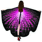 Fashion woman polyester spinning butterfly butterfly shawls dance decoration