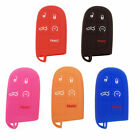1pc 5-Buttons Silicone Key Fob Shell Cover Case For Jeep Chrysler Dodge Charger $6.6 USD on eBay