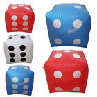 """Inflatable Dice,12"""" Numeral Dice for Indoor and Outdoor-Broad Games,Pool Party"""
