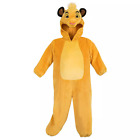 Disney Authentic Simba Lion King Boys Toddler Costume Outfit Size 2T 3T 4T 5T