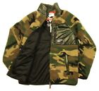 Superdry Men's Camo/Cool Olive Multi Mountain Sherpa Camo Full Zip Jacket