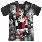 Authentic Batman Harley Quinn Bad Girls Sublimation Allover Front T-shirt top