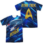 Authentic Star Trek NCC-1701 Space The Final Frontier Allover Front Back T-shirt on eBay