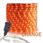 "Assorted Sizes 1/2"" Orange LED Rope Lighting Thick Indoor Outdoor Christmas Xmas"