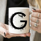 G Initial Monogram Coffee Mug More Letters Available Microwave And Dishwasher photo