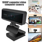 HD 1080P Web Camera with Microphones Autofocus Webcam for Gaming Conferencing