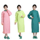 3/10PC Surgical Gown Hospital Workwear Protective Doctor Isolation Gown Washable