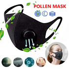 Kyпить Unisex Cotton Face Mask Activated Carbon Mask With Filter-Washable Reusable New на еВаy.соm