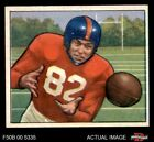 1950 Bowman #32 Ray Poole Giants-FB Mississippi / North Carolina 6 - EX/MT $54.0 USD on eBay