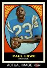1967 Topps #121 Paul Lowe Chargers Oregon St 7 - NM $23.0 USD on eBay