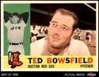 1960 Topps #382 Ted Bowsfield Red Sox 7.5 - NM+