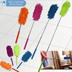 Duster Cleaning Brush Dust Cleaner Extendable Handle Soft Ceiling Fan Microfiber