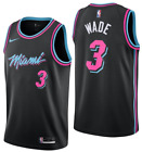 Mens Dwyane Wade Miami Heat Nike Infant City Edition Replica Jersey Black on eBay
