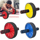 Abdominal Exercise Roller Body Fitness Strength Training ABS Wheel Gym w/Hassock image
