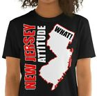 New Jersey Attitude,What!, Short-Sleeve Unisex T-Shirt, New Jersey Saying Gift image