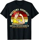 Weekend Forecast Softball T-shirt S-3XL US Cotton Unique 2020