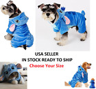 Disney Stitch Pet Cute Costume Dog Cat Hoodie Pajamas Outfit Coat Halloween NEW