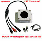 MIC Speaker in 1 Device Interphone for IP Security Camera Audio I/O Outdoor IP66