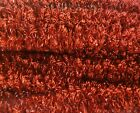 """48 pcs 12"""" x 3/4"""" Wired Pipe Cleaners Christmas Tinsel Craft Chenille Stems"""
