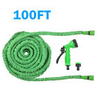 25-150 FT Long Retractable Expandable Magic Garden Hose Pipe With Spray Gun UK
