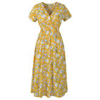 UK2020 Sexy Dresses for Womens Floral Ladies Dress Beach Clothing Plus Size 8-22