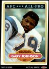 1980 Topps #210 Gary Johnson - All-Pro Chargers Grambling 5 - EX $0.99 USD on eBay