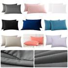 Queen King Size Zipper Closure Pillowcase Pillow Case Cover Brushed Microfiber image