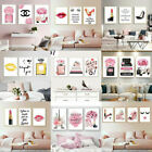 Fashion Poster Girls Room Art Print Modern Makeup Dress Up Canvas Wall Painting