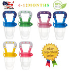 Kyпить (2 Pack) US Baby Feeding Pacifier Fresh Food Fruits Feeder, (Medium 6-12 Months) на еВаy.соm