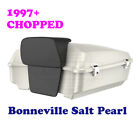 Bonneville Salt Pearl Chopped Tour Pack Luggage Fit 97-2020 Harley Street Road $769.0 USD on eBay