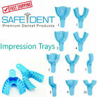 DENTAL IMPRESSION TRAYS UPPER LOWER QUADRANT ANTERIOR All Sizes 12/BAG