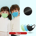 3x Kids Anti-smoke Dust Face Cover Mouth Muffle Washable Breathable Face Shield