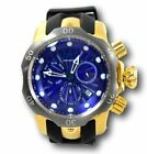 Invicta Venom Men's 54mm Blue Dial Gold Stainless Swiss Chronograph Watch 25899 image