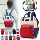 Mummy Backpack Maternity Baby Nappy Diaper Bags Waterproof Handbag Travel Large
