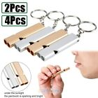 4pcs Outdoor Survival Whistle Camping Emergency Gear Pet Training&obedience Tool